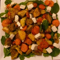 Duck Fat Roasted Vegetable Salad