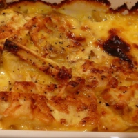 Sweet Potato Dauphinoise
