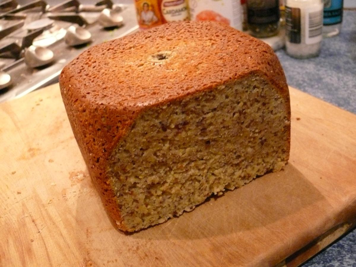 Paleo Bread-Maker Bread.