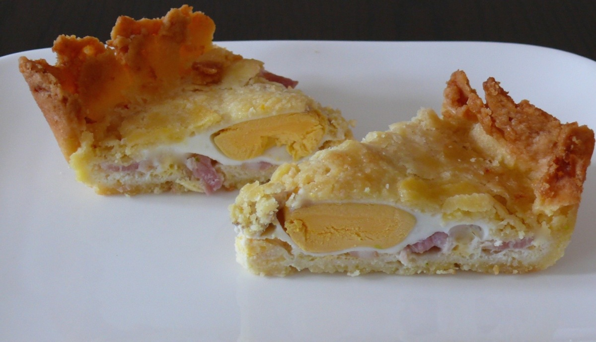 Bacon and Egg Pie - Grain-free and Gluten-free
