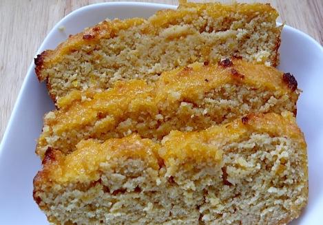 Lemon cake sliced