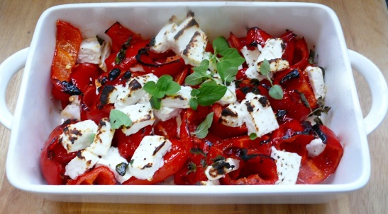 Roast Pepper & Goat's Feta