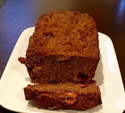 Banana & Plum Loaf 2