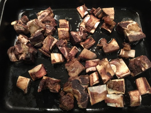 Roasted Beef Broth Bones
