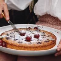 Gluten Free Cherry Almond Tart